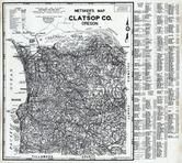 Clatsop County 1980 to 1996 Mylar, Clatsop County 1980 to 1996